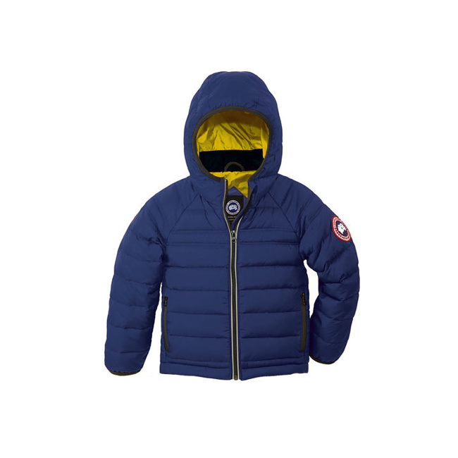 Cheap Canada Goose Kids Bobcat Hoody Pacific Blue Sale