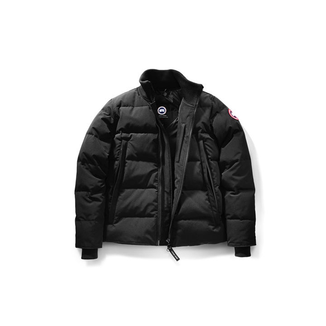Cheap Canada Goose Men Woolford Jacket Fusion Fit Black Sale