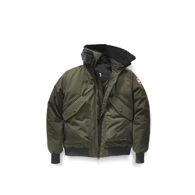 Cheap Canada Goose Men Bromley Bomber Military Green Sale