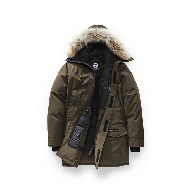 Cheap Canada Goose Men Langford Parka Grizzly Brown Sale