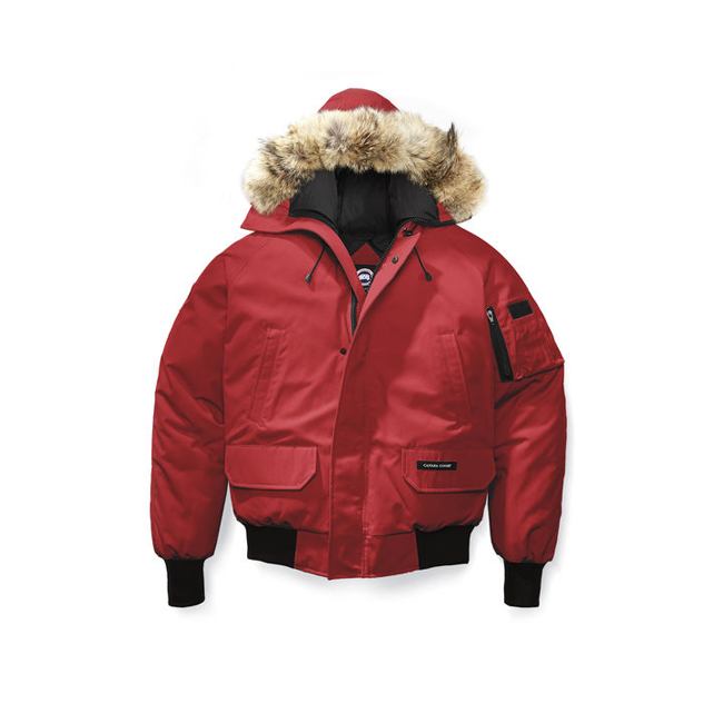 Cheap Canada Goose Men Chilliwack Bomber Red Sale