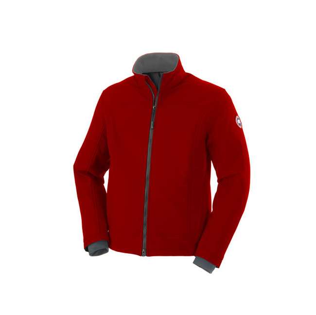 Cheap Canada Goose Men Bracebridge Jacket Red/Graphite Sale