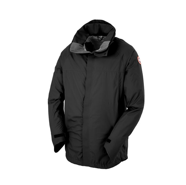 Cheap Canada Goose Men Hayward Shell Black/Graphite Sale