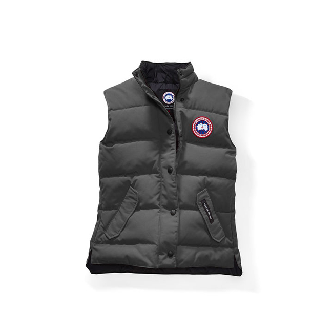 Cheap Canada Goose Women Freestyle Vest Graphite Sale
