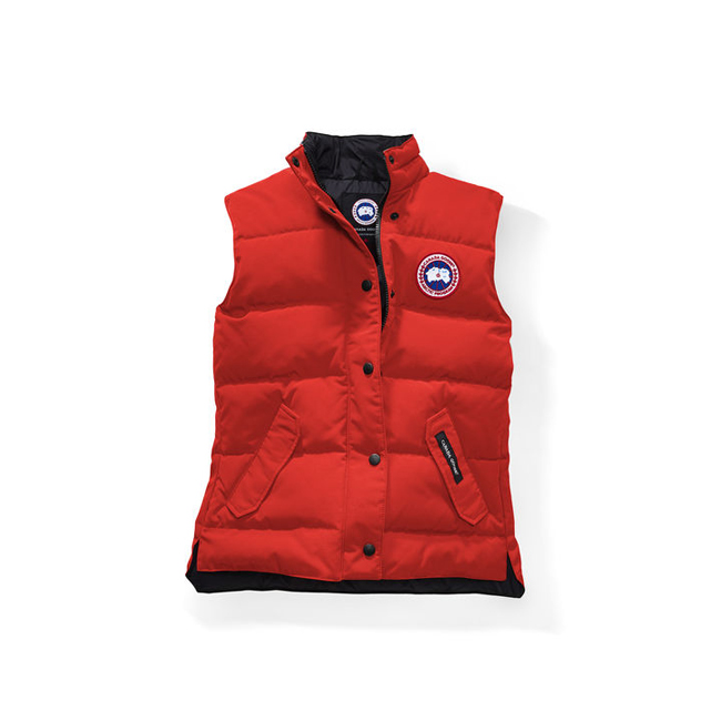 Cheap Canada Goose Women Freestyle Vest Monarch Orange Sale