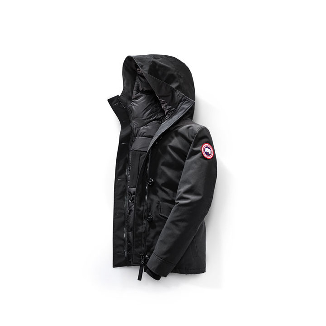 Cheap Canada Goose Women Rideau Parka Black Sale