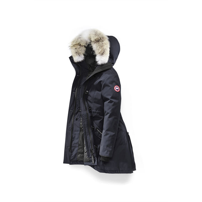 Cheap Canada Goose Women Rossclair Parka Navy Sale