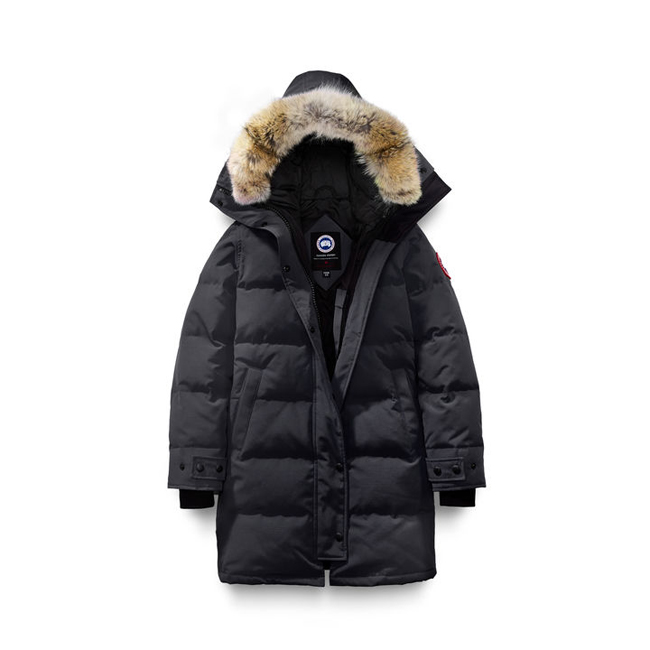 Cheap Canada Goose Women Shelburne Parka Fusion Fit Navy Sale