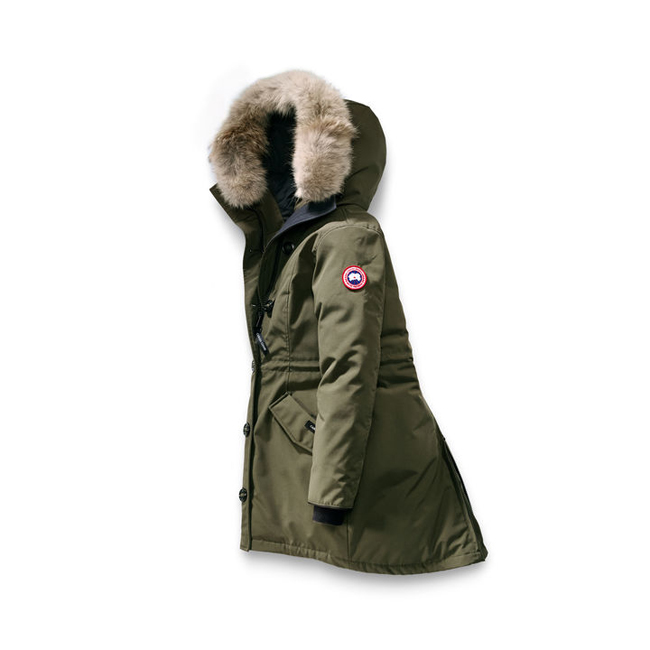 Cheap Canada Goose Women Rossclair Parka Fusion Fit Military Green Sale
