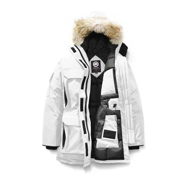 Cheap Canada Goose Women Expedition Parka White Sale