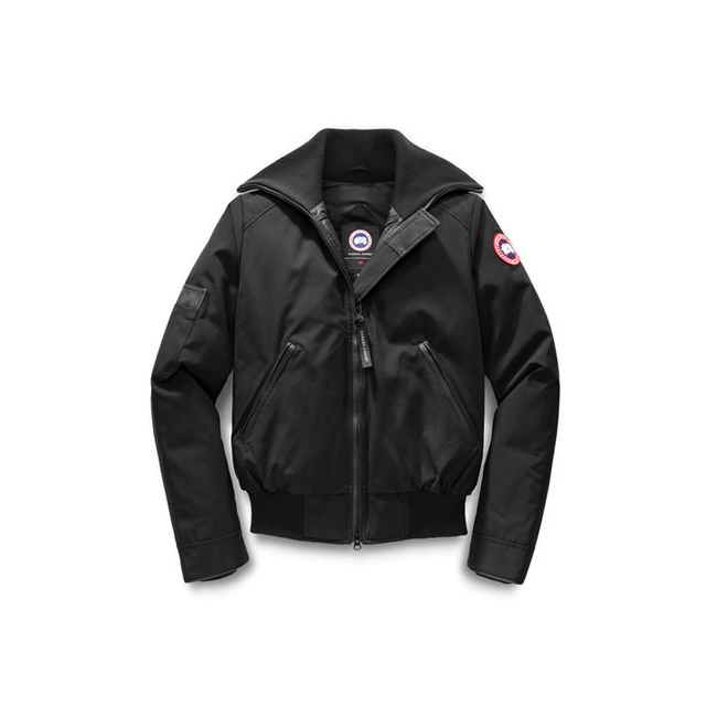 Cheap Canada Goose Women Huron Bomber Black Sale