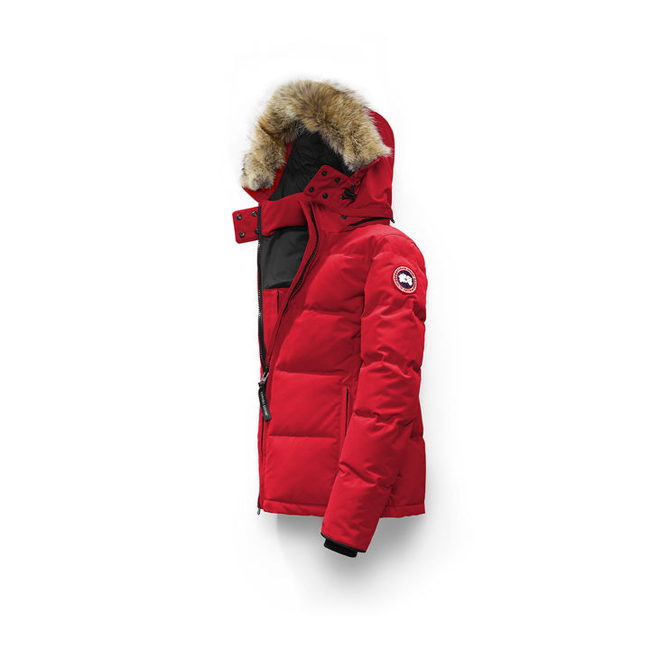 Cheap Canada Goose Women Chelsea Parka Red Sale