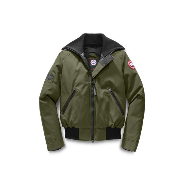 Cheap Canada Goose Women Huron Bomber Military Green Sale